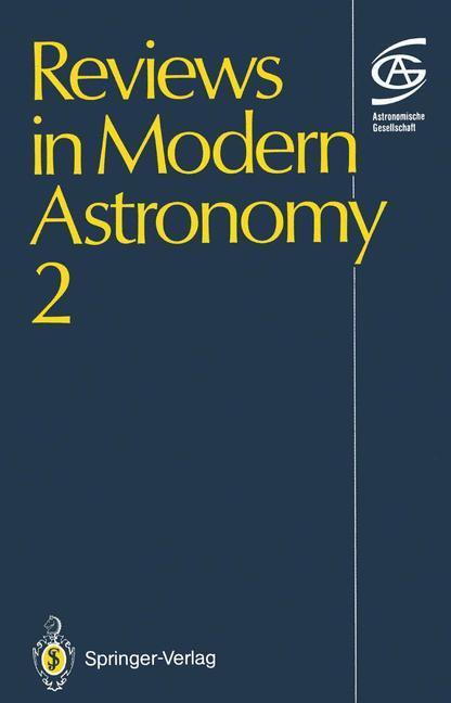 Reviews in Modern Astronomy 2 als Buch von Gerh...