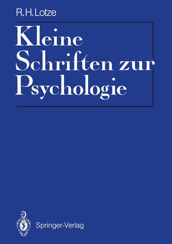 Kleine Schriften zur Psychologie als Buch von R...