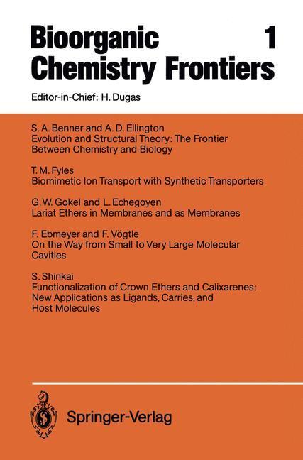 Bioorganic Chemistry Frontiers als Buch von S. ...