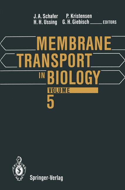 Membrane Transport in Biology als Buch von