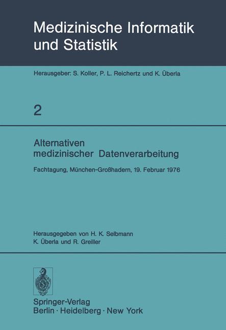 Alternativen medizinischer Datenverarbeitung al...