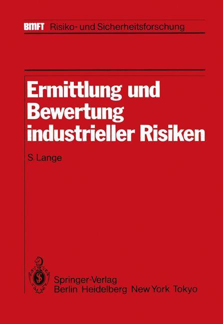 Ermittlung und Bewertung industrieller Risiken ...