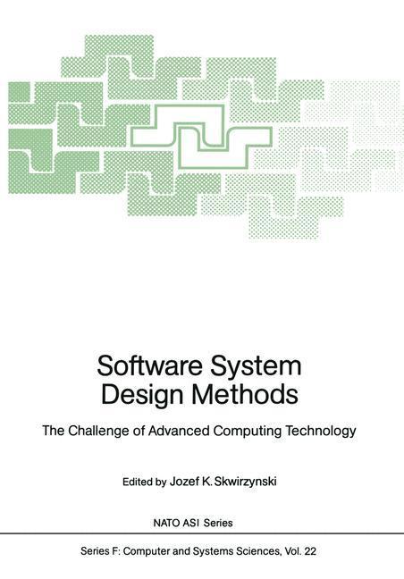 Software System Design Methods als Buch von