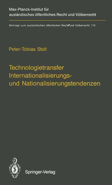 Technologietransfer Internationalisierungs- und...