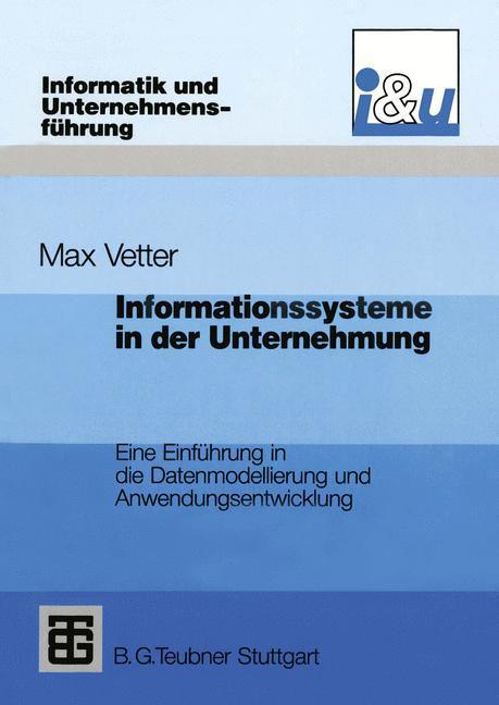 Informationssysteme in der Unternehmung als Buc...