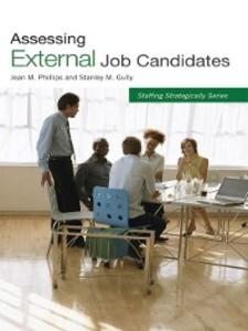 Assessing External Job Candidates als eBook Dow...