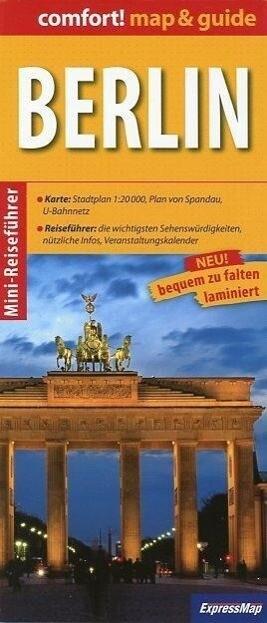 Berlin map & guide als Buch von