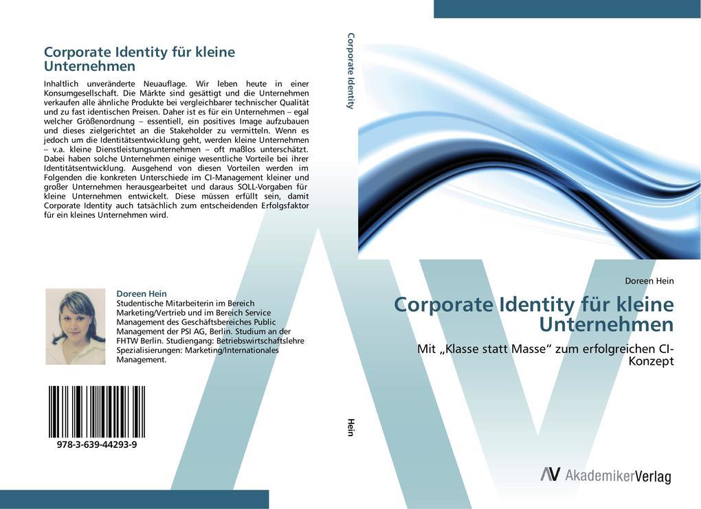 Corporate Identity für kleine Unternehmen als B...