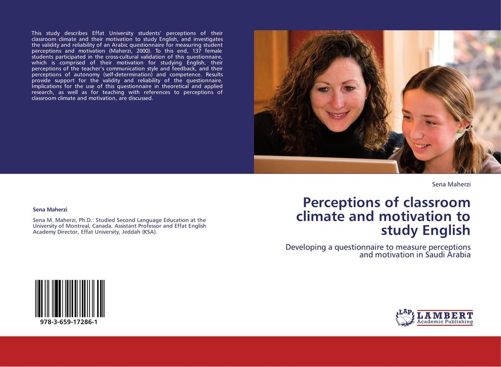 Perceptions of classroom climate and motivation...