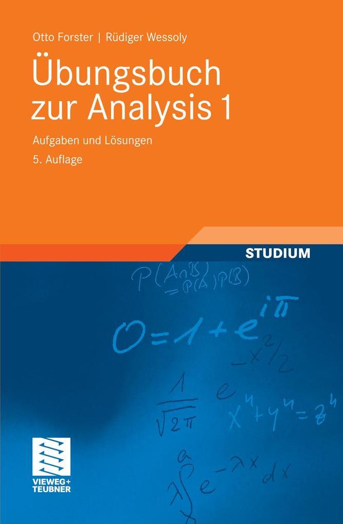 Übungsbuch zur Analysis 1 als eBook