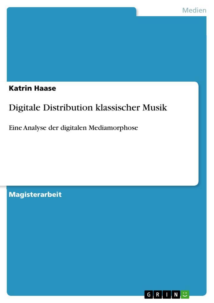 Digitale Distribution klassischer Musik als eBo...