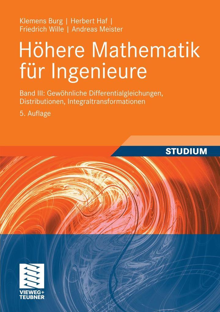 Höhere Mathematik für Ingenieure Band III als e...