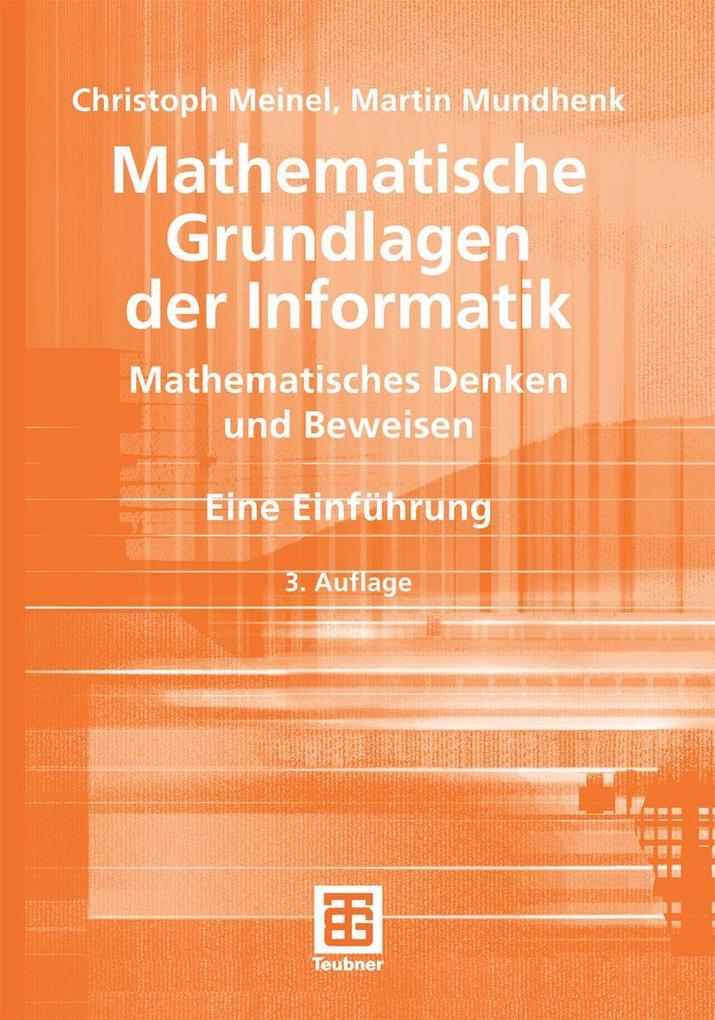 Mathematische Grundlagen der Informatik als eBo...
