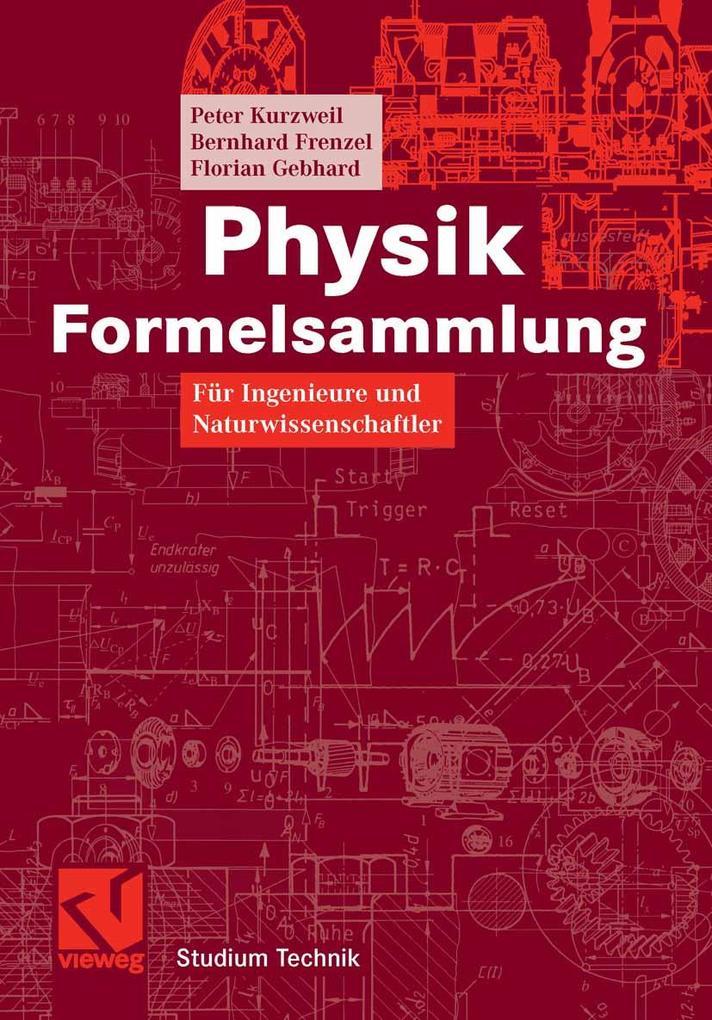Physik Formelsammlung als eBook Download von Pe...