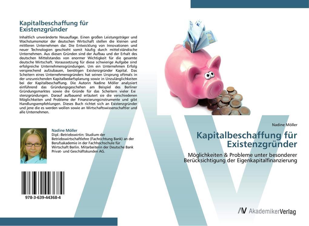 Kapitalbeschaffung für Existenzgründer als Buch...