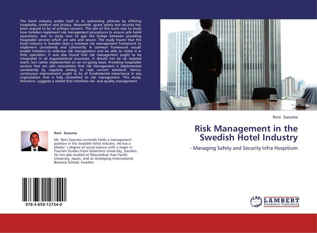Risk Management in the Swedish Hotel Industry a...