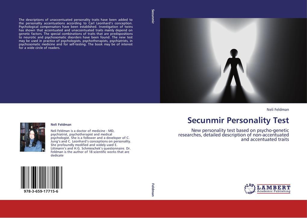Secunmir Personality Test als Buch von Neli Fel...