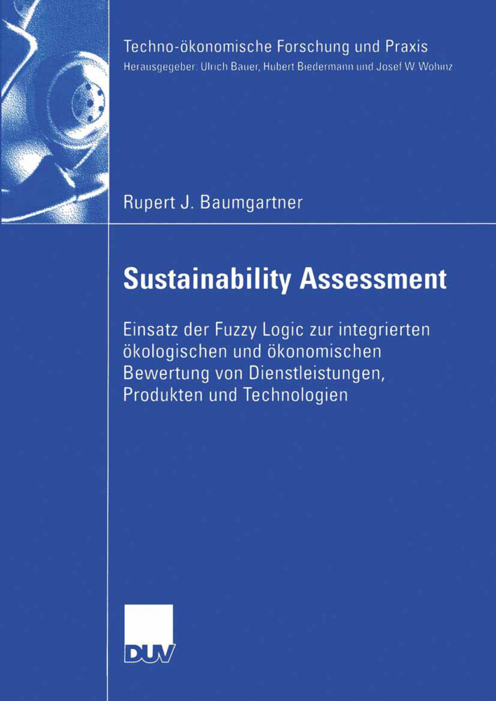 Sustainability Assessment als Buch