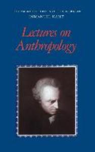 Lectures on Anthropology als Buch (gebunden)