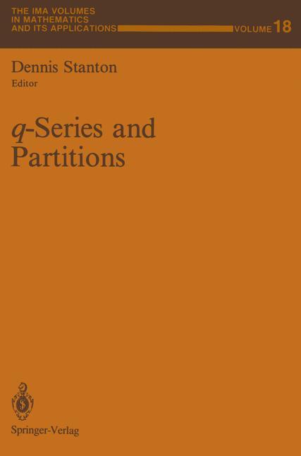 q-Series and Partitions als Buch von