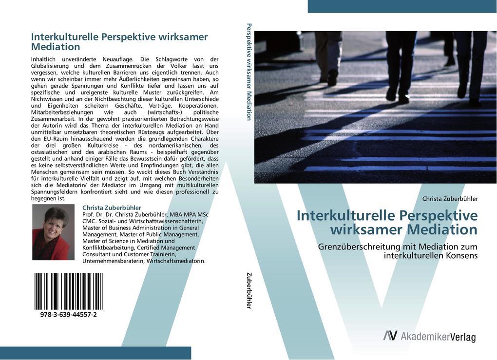 Interkulturelle Perspektive wirksamer Mediation...