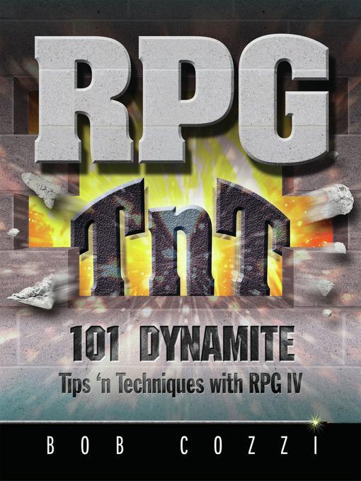 RPG TnT als eBook Download von Bob Cozzi