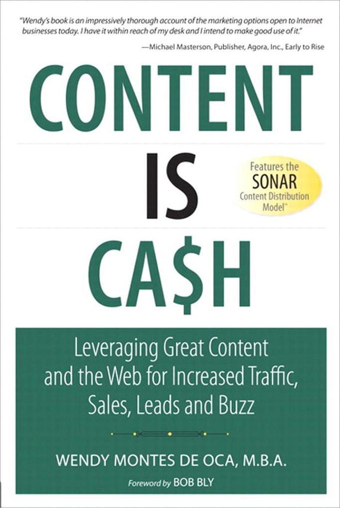 Content Is Cash als eBook Download von Wendy Mo...