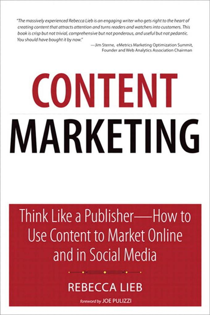 Content Marketing als eBook Download von Rebecc...