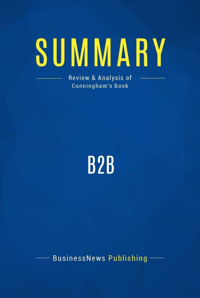 Summary: B2B Michael Cunningham als eBook Downl...