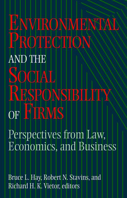 Environmental Protection and the Social Respons...