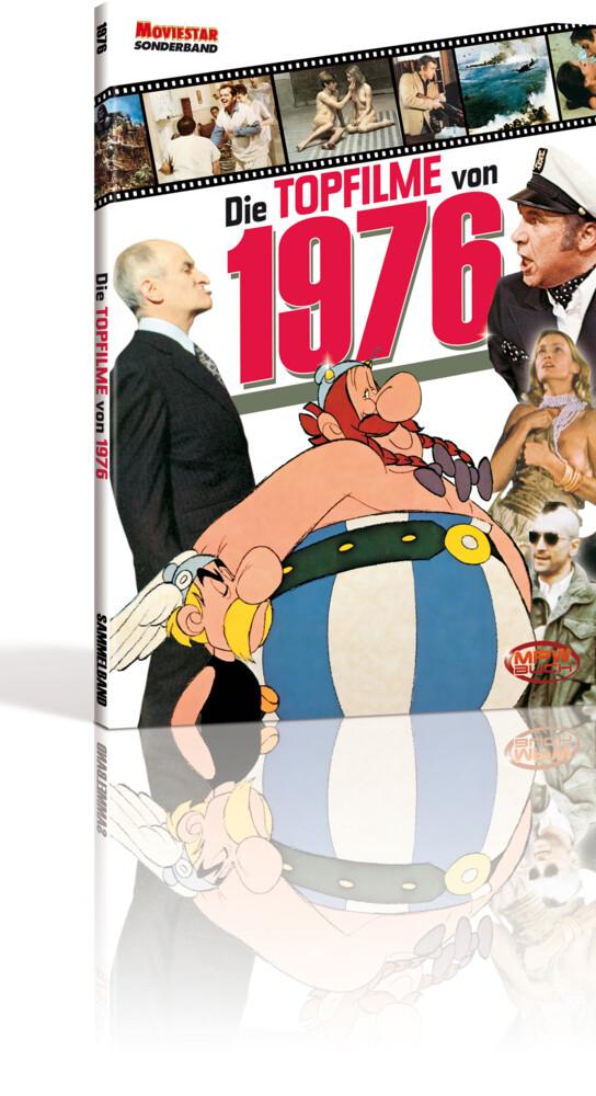 Die Topfilme von 1976 als Buch von Tobias Hohma...