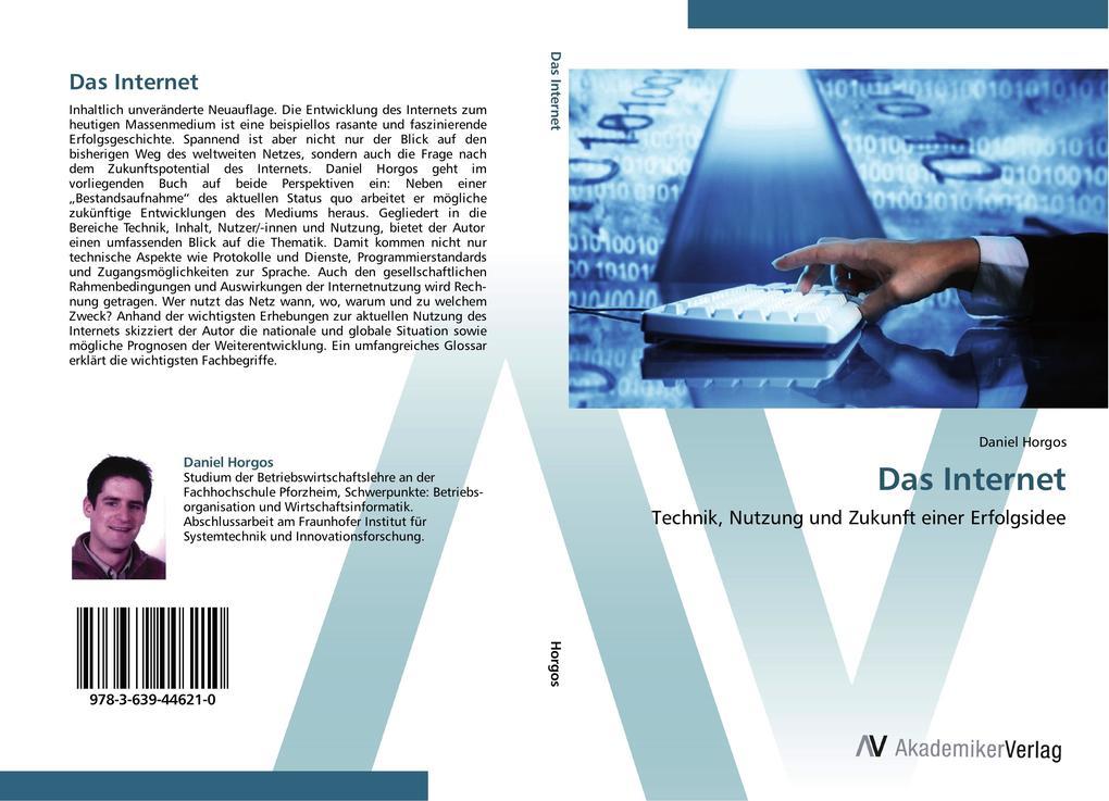 Das Internet als Buch von Daniel Horgos