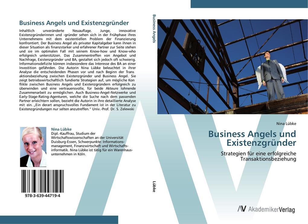 Business Angels und Existenzgründer als Buch vo...