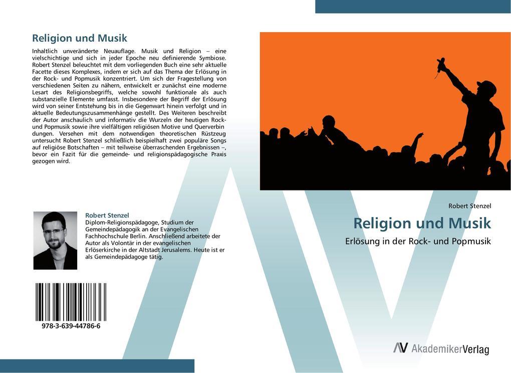 Religion und Musik als Buch von Robert Stenzel