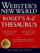 Webster's New World Rogets A-Z Thesaurus
