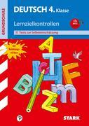 Deutsch 4. Klasse Lernzielkontrolle Training Grundschule