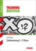 Training Deutsch 5. - 7. Klasse Realschule Zeichensetzung