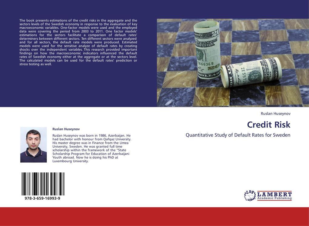 Credit Risk als Buch von Ruslan Huseynov