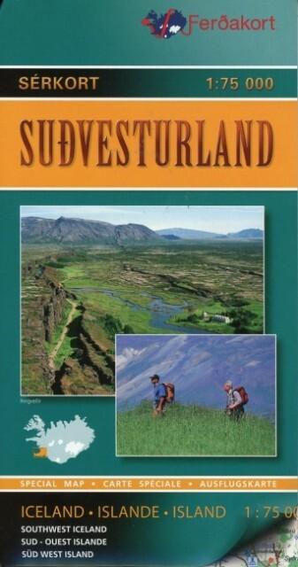 9789979671916 - Southwest Iceland / Sudvesturland 1 : 75 000 als Buch von - Book