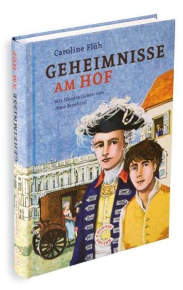 Geheimnisse am Hof als Buch von Caroline Flüh