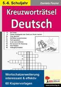 Kreuzworträtsel Deutsch 5.-6. Schuljahr