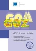 GOZ-Kurzverzeichnis