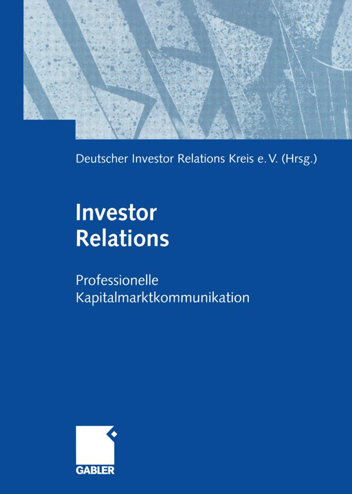 Investor Relations als Buch von