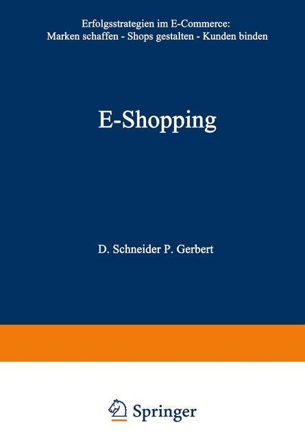 E-Shopping als Buch von Philipp Gerbert, Dirk S...