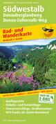 Südwestalb, Donauberglandweg, Donau-Zollernalb-Weg 1 : 50 000 Rad- und Wanderkarte