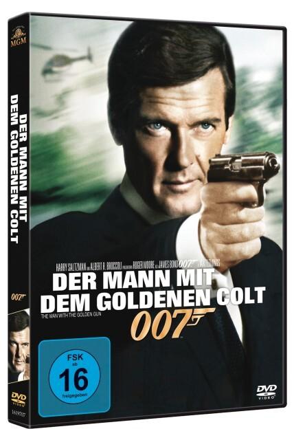 James Bond 007: Der Mann mit dem goldenen Colt als DVD