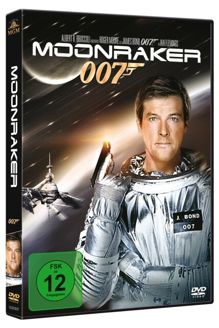 James Bond 007: Moonraker als DVD