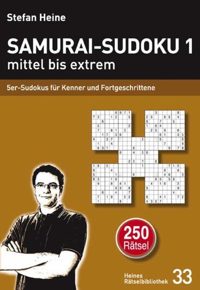 Samurai-Sudoku 1 mittel bis extrem als Buch von