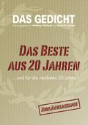 DAS GEDICHT 20. Zeitschrift für Lyrik, Essay und Kritik