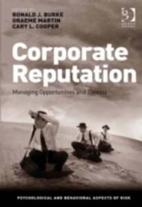 Corporate Reputation als eBook Download von